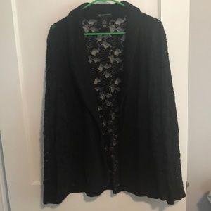 INC black lace blazer